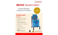 Becca - 17.5 Gallon Distillation Recyclers Brochure