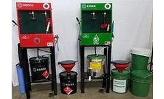 Becca - Model 3P - Clean & Polish Waste Management System