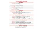 AccuChrome - Model GC - Btu & Hydrocarbon Gas Analyzer Brochure