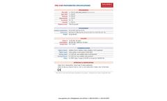 Galvanic - Model FPA 4100 - UV Digital Photometers Brochure