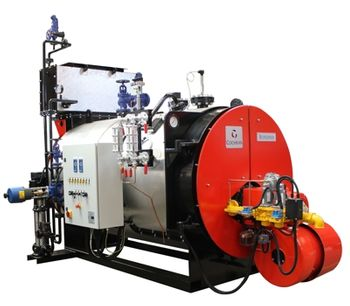 Cochran - Model ST25 - Steam Boiler