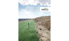 VersaCap - Erosion-Resistant, Reusable Intermediate Engineered Turf Cover - Brochure