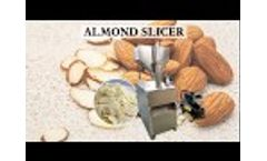 Automatic Almond Slicer Machine | Peanut, Cashew Nut Slicing Machine with Good Price Video