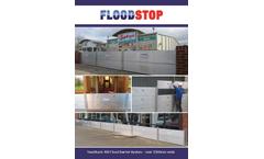 Nautilus - Model 400 - Demountable Flood Defence Barriers Brochure