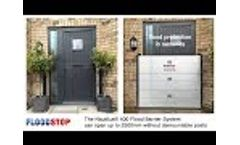 Flood Barriers - Nautilus 400 under 2.5m wide - Floodstop Ltd Video