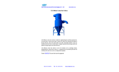 Model CLK - Diffusion Cyclone Dust Collector Brochure