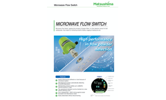Matsushima - Microwave Flow Switch Brochure
