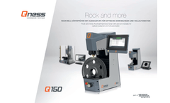 Qness - Model Q150R - Rockwell Hardness Tester Brochure
