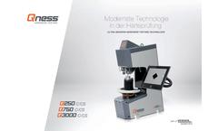 Qness - Model Q250 - Micro Hardness Tester Brochure