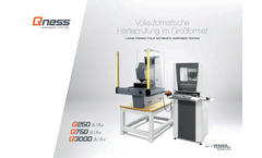 Qness - Model Q250 - Automatic Micro Hardness Tester Brochure