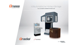 Qradial - Fully Automatic Hardness Testing Plant Brochure