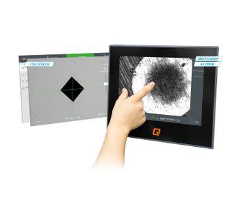 Qpix - Version T2 - Full Screen Mode Hardness Test Software