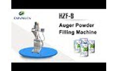 Auger Powder Filling Machine HZF-B Video
