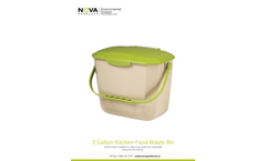 Kitchen Food Waste Bins - Brochure