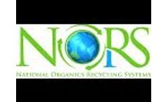 NORS USA National Organic Recycling Systems Food Waste into Fuel Feed Bio Char Fertilizer Video