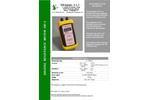 Vibraquipo - Model OD-3 - Resistance Meters  Brochure
