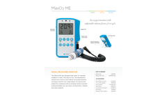Maxtec - Model MaxO2 ME - Blender Kit Brochure
