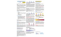 AquaVial Plus - Water Test Kit - Brochure