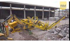 RM 60 + RM CS2500 crushing production waste in Ecuador