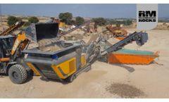 RM 90GO! crushing C&D waste in Agramunt, Spain