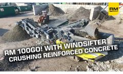High Final Aggregate Quality With Windsifter - Video