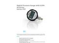 APG - Model Series PG7 IP67 - Digital Pressure Gauge - Datasheet