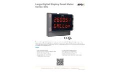 DDL Large Digital Display Panel Meter