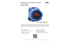 DDX Explosion Proof Digital Display Panel Meter