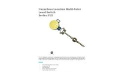 APG - Model FLX - Hazardous Location Multi-Point Level Switch - Datasheet