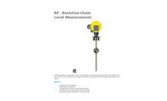 APG - Model Series RP - Explosion Proof Resistive Level Transmitter - Datasheet