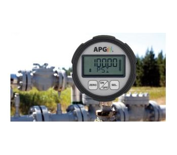 IP67 Digital Pressure Gauge with 0.25% Accuracy-2