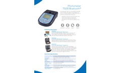 Photometer 7500 Specification