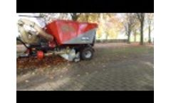 Trilo S3 Vacuum sweeper, Leaf collector  Video
