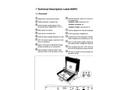 Lokal - Model 200PC - Digital 3 Point FFT Correlation Technical Datasheet