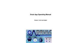 Drulo App - Operating Manual