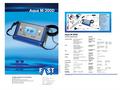 Aqua - Model M300 - Intelligent Geophone for Leakage Search - Datasheet