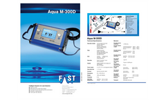 Aqua - Model M300 - Intelligent Geophone for Leakage Search - Datasheet
