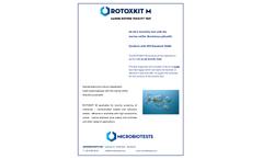 Microbiotests ROTOXKIT M - Cyst-based Marine Rotifer Toxicity Test Kit - Brochure