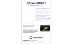 Microbiotests THAMNOTOXKIT F - Model TK31 - Cyst-based Thamnocephalus Platyurus Toxicity Test Kit - Brochure