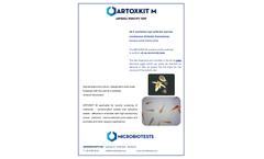 Microbiotests - Model ARTOXKIT M - Cyst-based Artemia Franciscana Toxicity Test Kit - Brochure