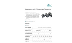Connected Filtration Towers - Brochure