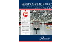 IAC - Acoustic Test Chambers Brochure