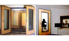 Noise-Lock - Acoustic Doors