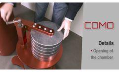 GIHMM COMO Contamination monitor - Video