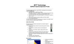 Gihmm - Model GSP02 - Gamma Spectrum Probe- Brochure