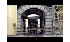 Disab TrailerVac - Industrial Vacuum at Bailystok Power Station - Poland Video