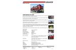 Disab Centurion - Model P30 ADR - Truck Mounted Vacloader - Datasheet