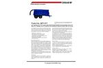 Disab TrailerVAC - Model SET-10T - Semi-Mobile Electrical Powered Vacloader - Datasheet