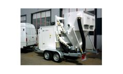 Disab Vacturion TrollyVac - Semi-Mobile, Diesel Powered Vacloader