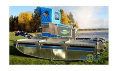 Truxor - Model DM 5045 - Professional High Performance Lake Clearing Machine